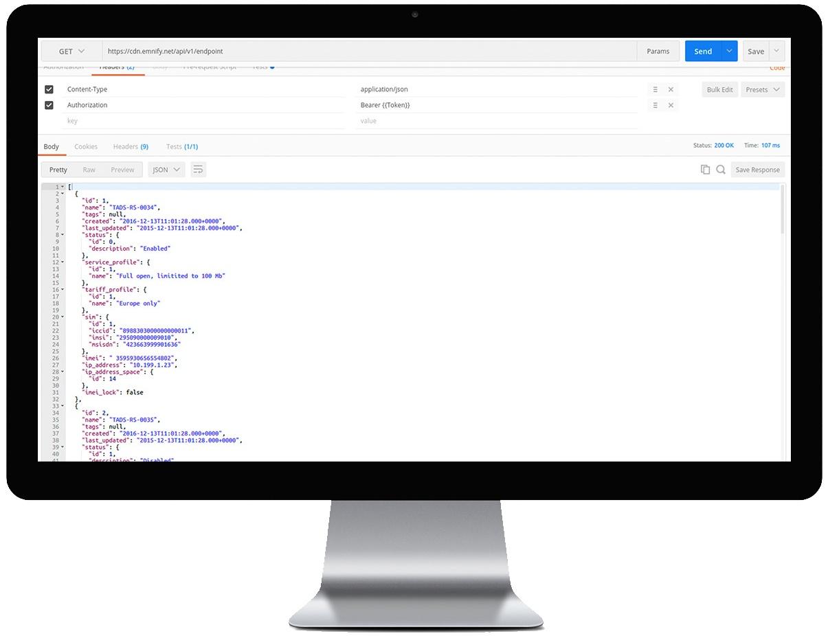 Integración con API Rest